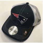 New Era New England Patriots Prime Mesh Back Adjustable Hat