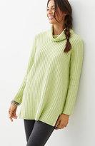 J. Jill Easy Cowl-Neck Tunic Sweater