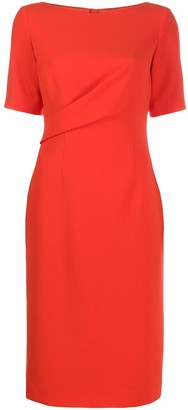 Paule Ka Structured Wrap Dress