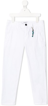 Dondup Kids Key Fob Detail Slim-Fit Jeans