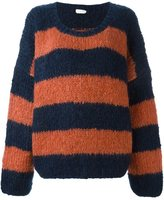 Chloé striped oversized jumper