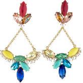 Lulu Frost Multicolor Crystal & Pearl Drop Earrings