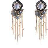 Alexis Bittar Satellite Spike Tassel Clip Earring