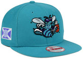 New Era Charlotte Hornets Flag Stated 9FIFTY Snapback Cap