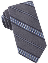 Black Brown 1826 Narrow Striped Tie