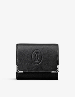 Cartier Must de calfskin square coin purse
