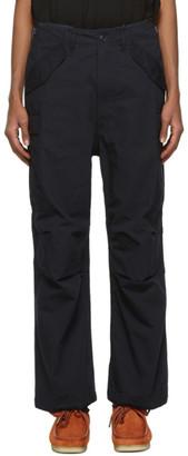 Nanamica Navy Cordura Cargo Trousers