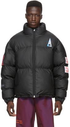 adidas by Alexander Wang Black Flex2Club Puff Jacket