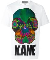 Christopher Kane Pansy T-shirt - men - Cotton - XS