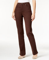 Style&Co. Style & Co Tummy-Control Straight-Leg Jeans, Only at Macy's