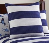 Pottery Barn Kids Rugby Stripe Quilt