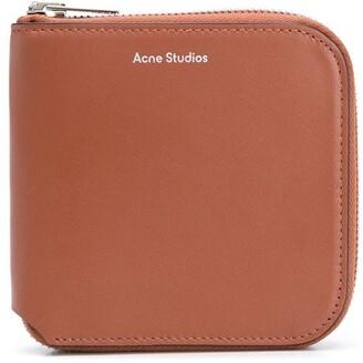 Acne Studios Medium Zipped Bifold Wallet