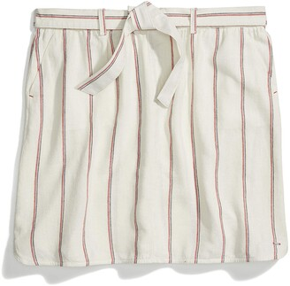 Tommy Hilfiger Women's Adaptive Belted Skirt with Velcro Brand Closure