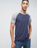Jack and Jones Vintage T-Shirt with Raglan Sleeve