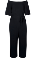 City Chic Off Shoulder Jumpsuit
