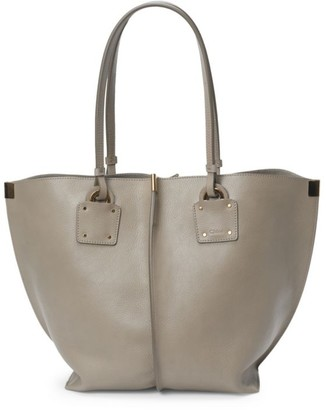 Chloé Medium Vick Leather Tote