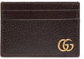 Gucci Textured-Leather Cardholder with Money Clip