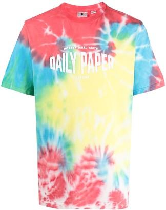 Daily Paper tie-dye print T-shirt