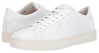 Santoni Jannas Sneaker (White) Men's Shoes
