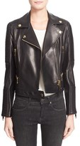 Burberry Women's 'Mossgrove' Leather Jacket
