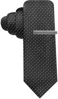 Alfani Men's Black Skinny Tie, Created for Macy's