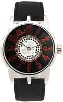 Gallucci Women's WT22007AU/SSL-KK(FAN) Fashion Swarovski Crystals Automatic Watch with Black Band