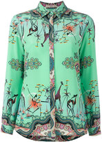 Etro printed blouse - women - Silk - 40