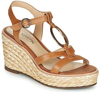 JB Martin EMANI women's Sandals in Brown