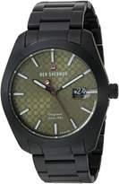 Ben Sherman Men's 'The Ronnie Professional' Quartz Stainless Steel Casual Watch, Color:Black (Model: WBS109BBM)