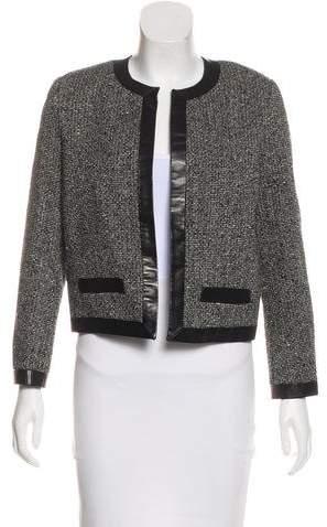 Saint Laurent Tweed Wool Blazer