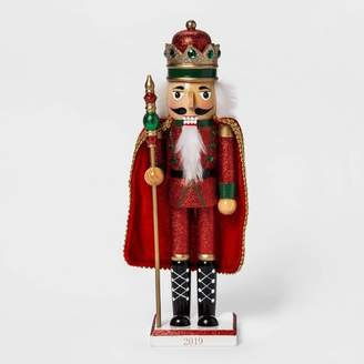 "Wondershop 14.5"" x 3.5"" Traditional Nutcracker with Cape Red - WondershopTM"