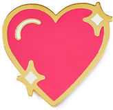 Stoney Clover Lane Sparkle Heart Enamel Pin