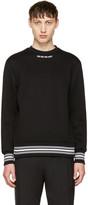 Neil Barrett Black 'Do or Do Not' Sweatshirt