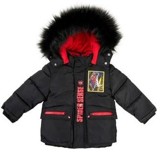 Spiderman Toddler Boy Heavyweight Hooded Parka Winter Coat