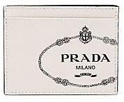 Prada Men's Saffiano Leather Card Case
