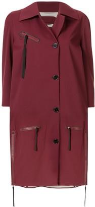 Yang Li Oversized Midi Coat