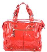 CNC Costume National Patent Leather Tote
