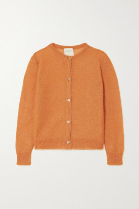 Forte Forte Mohair-blend Cardigan - Orange