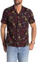 Scotch & Soda Signature Short Sleeve Hawaiian Fit Shirt