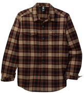 Volcom Matens Long Sleeve Flannel Shirt (Big Boys)
