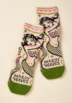 Mermaid Quite an Impression Socks