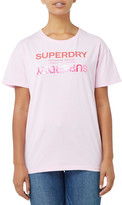 Superdry Premium brand reflection Portland tee Pale