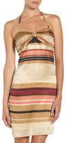 Jenny Han Striped Halter Dress