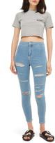 Topshop Joni Super Rip Skinny Jeans (Petite)