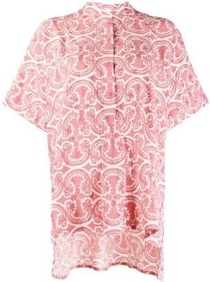 Jil Sander Litton printed shirt