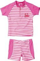 Playshoes Girl's UV Sun Protection 2 Piece Swim Set Crab Swimsuit