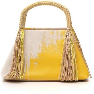 Issey Miyake Tassle Tote Bag
