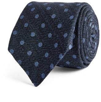 Kiton Polka-Dot Tie