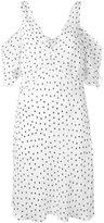 McQ by Alexander McQueen polka dot shift dress - women - Polyester - 40