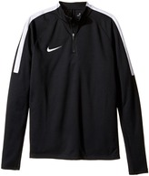 Nike Squad Long Sleeve 1/4 Zip Soccer Drill Top (Little Kids/Big Kids)